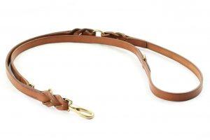 Guinzaglio regolabile con intrecci da 180 cm adatto a cani di grossa taglia.